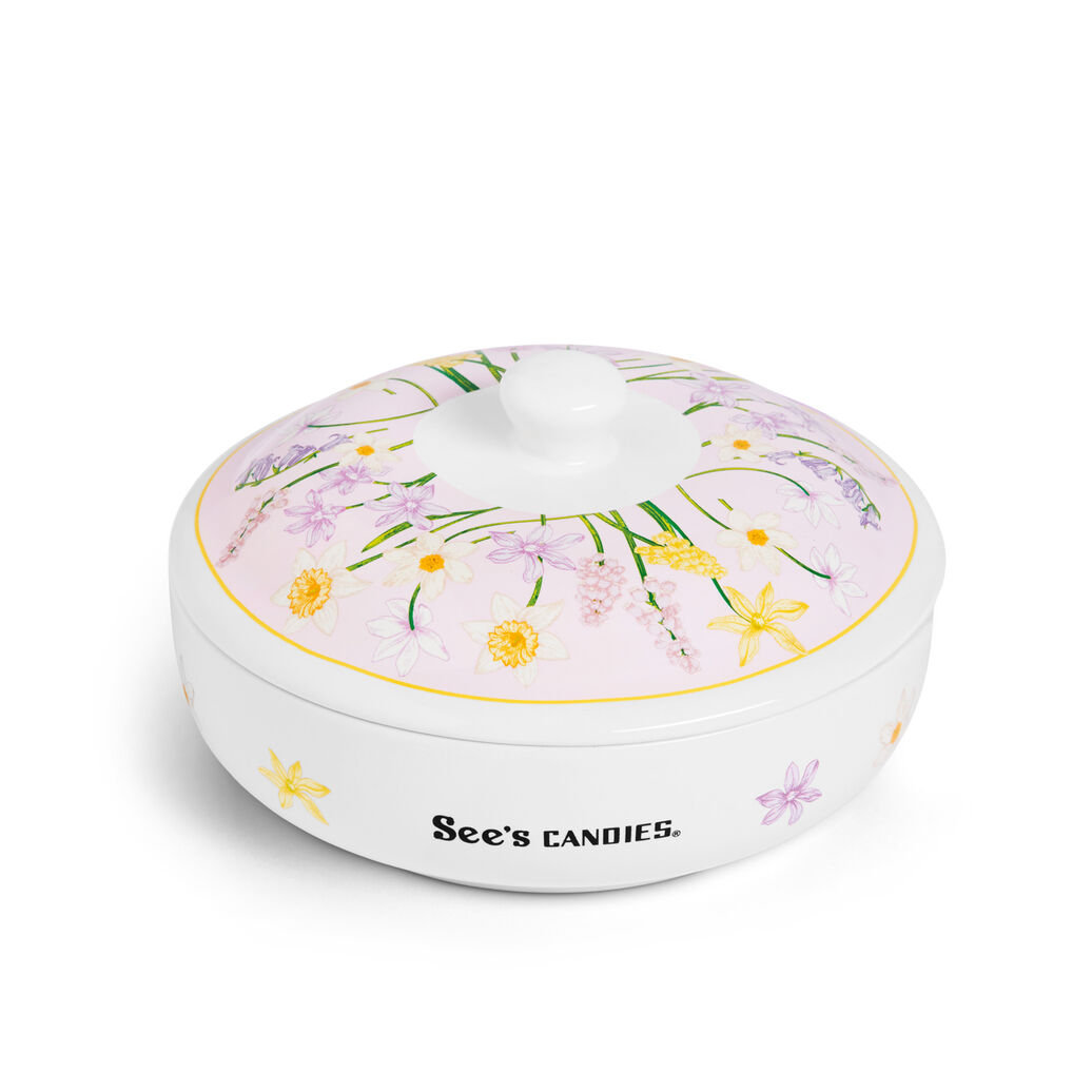Sweet Blossoms Candy Dish
