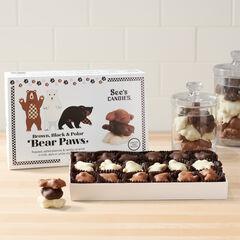Brown, Black & Polar Bear Paws View 3