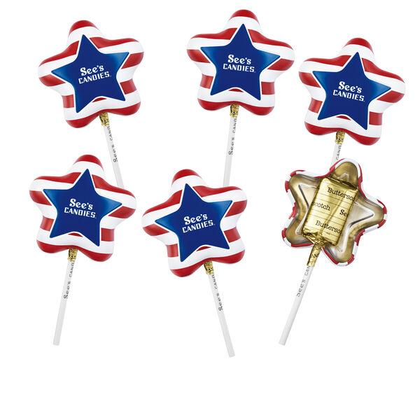 Patriotic Lollypops