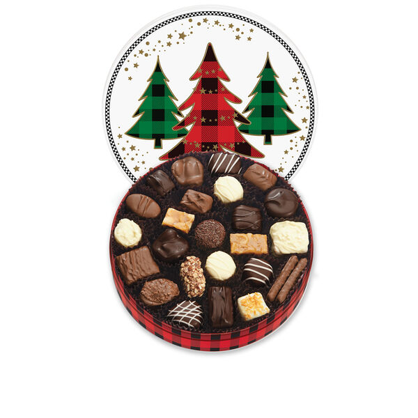 Holiday Trees Keepsake Tin