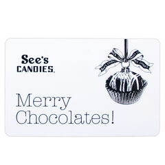"""$25 Gift Card (""""Merry Chocolates"""") View 1"""