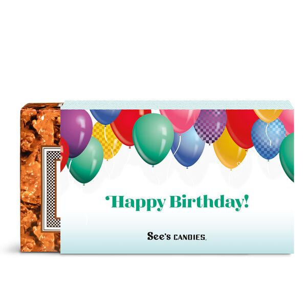 Birthday Wishes Peanut Brittle