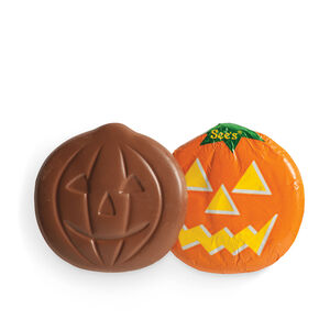 Milk Chocolate Jack-O'-Lanterns
