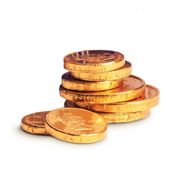 Hanukkah Gold Coins view 2