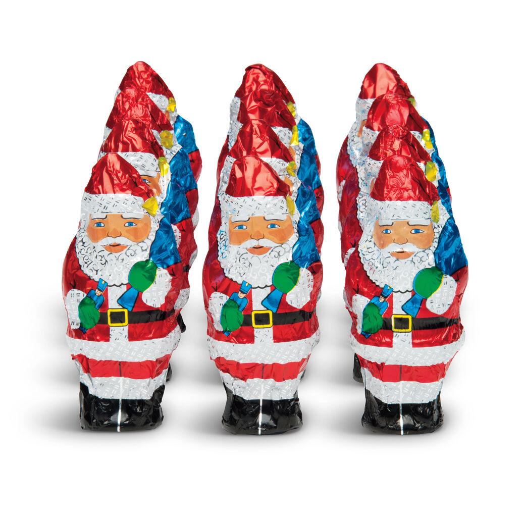 Milk Chocolate Santas