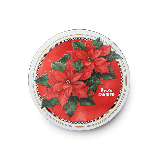 Poinsettia Keepsake Tin view 3