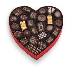 Classic Red Heart - Dark Chocolates View 2