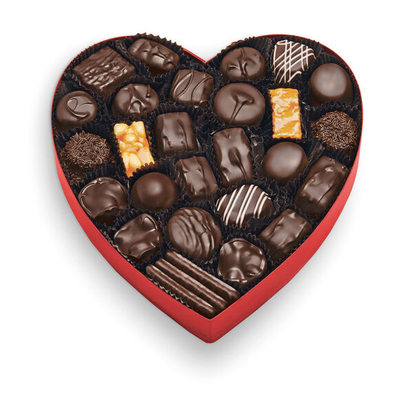 Classic Red Heart - Dark Chocolates view 2