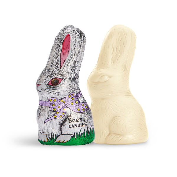 Little White Chocolate Bunny view 1