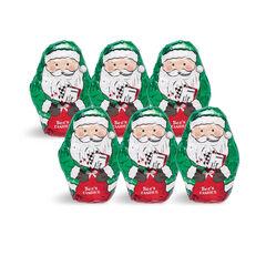 Dark Chocolate Santas View 1