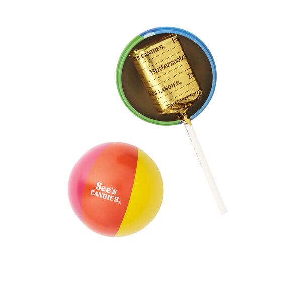 Summer Butterscotch Lollypop