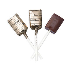 Chocolate Coconut Lollypops View 1