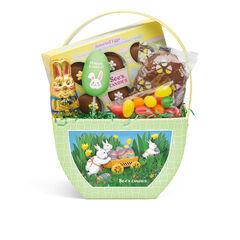 Spring Bunnies Basket View 1