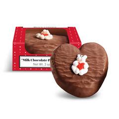 Milk Chocolate Peanut Butter Heart View 1