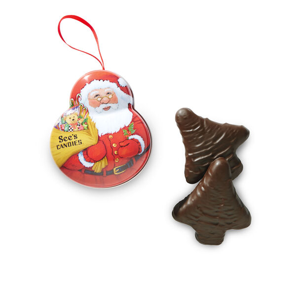Keepsake Santa Ornament