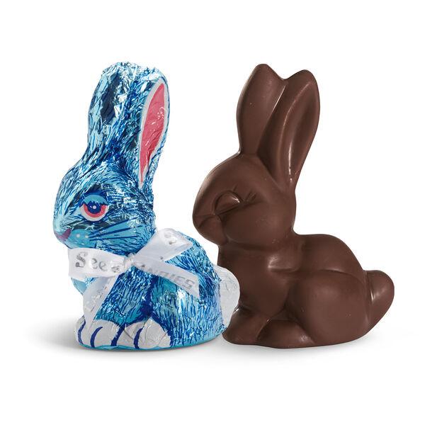 Dark Chocolate Bunny view 1
