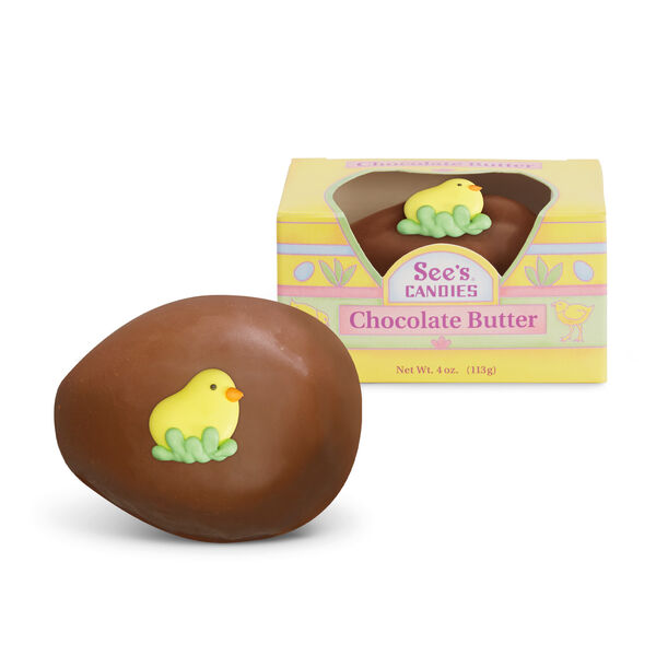 Chocolate Butter Egg view 1