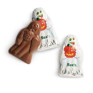 Milk Chocolate Ghosts
