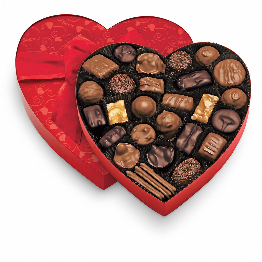 Classic Red Heart - Assorted Chocolates
