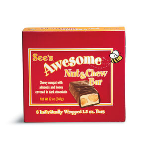 See's Awesome® Nut & Chew Bars