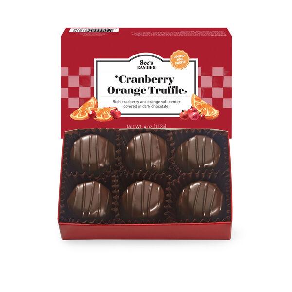 Cranberry Orange Truffles