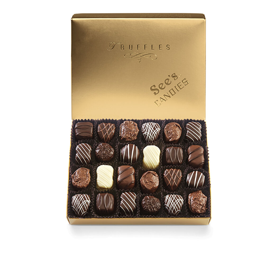 Chocolate Truffles Assortment 1 Lb See S Candies
