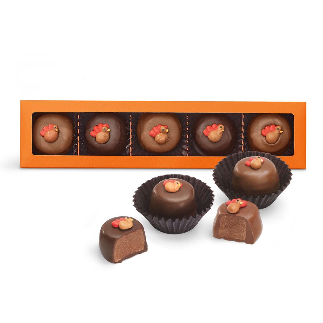 Thanksgiving Chocolate Creams