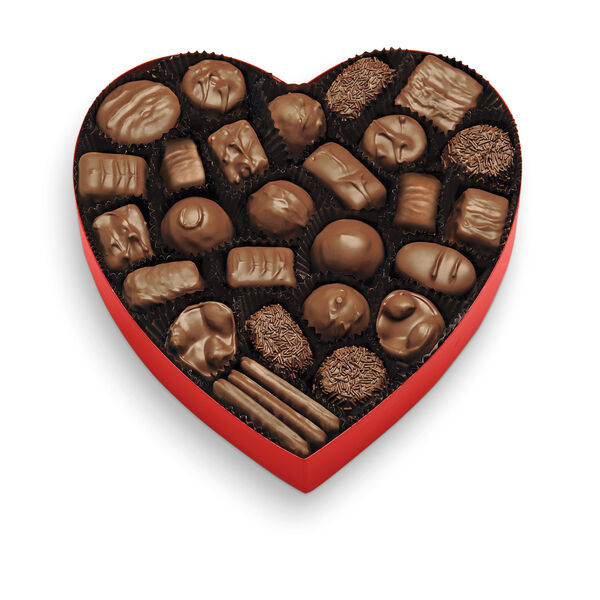 Classic Red Heart - Milk Chocolates view 2