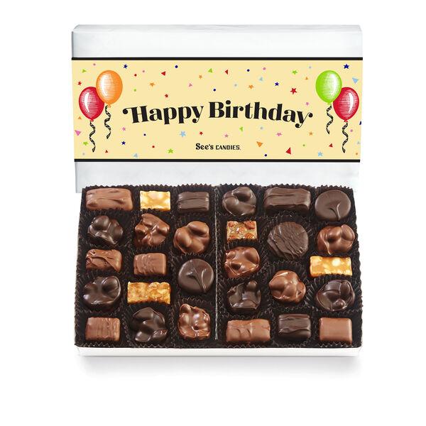 Birthday Celebration Nuts & Chews view 1