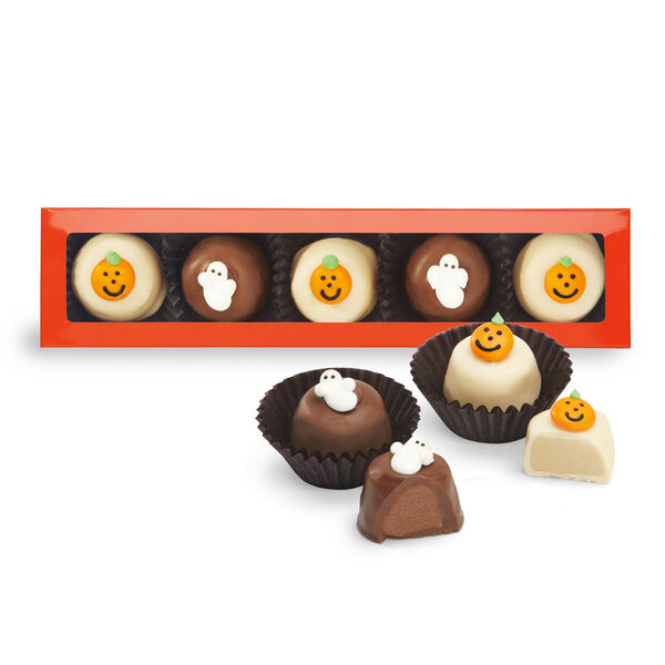 Halloween Orange & Chocolate Creams
