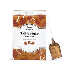 Root Beer Lollypops View 1