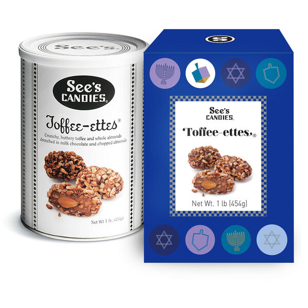 Hanukkah Toffee-ettes®