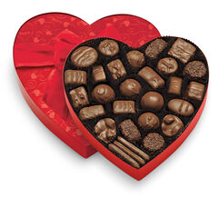 Classic Red Heart - Milk Chocolates View 1