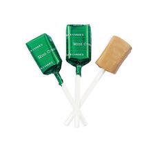 Mint Cream Lollypops