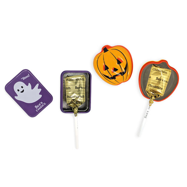 Trick or Treat Lollypops
