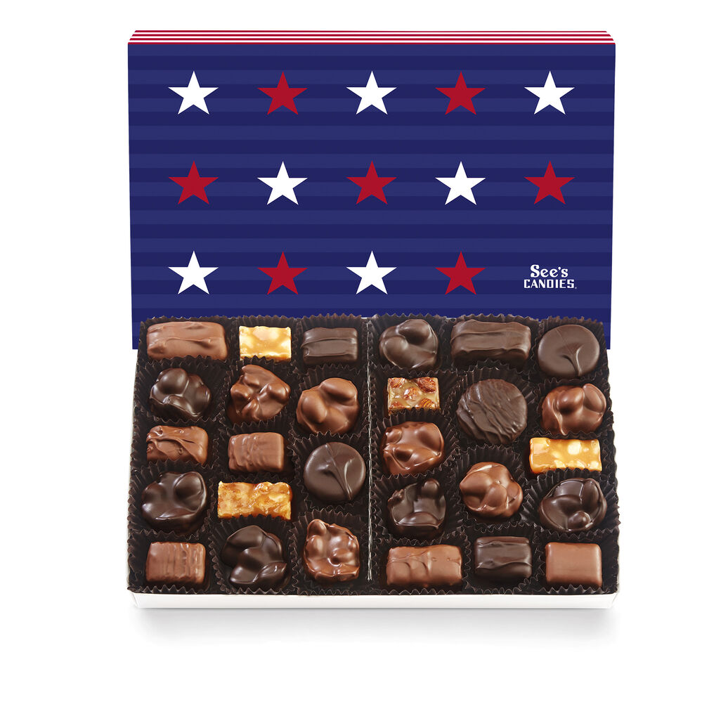 Stars & Stripes Nuts & Chews
