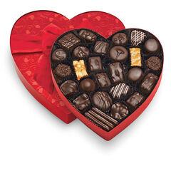 Classic Red Heart - Dark Chocolates View 1