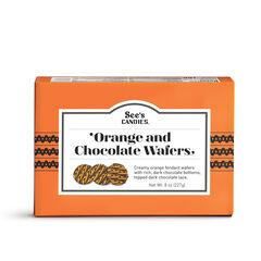 Orange & Chocolate Wafers View 1