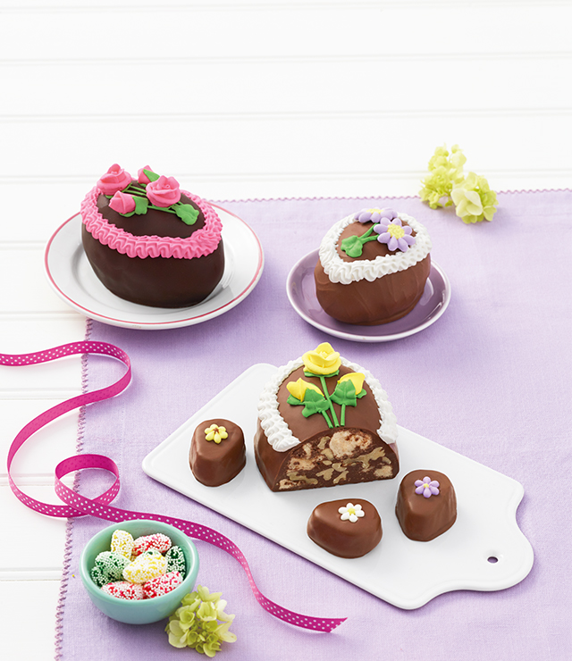 Hand-Decorated Chocolate Easter Eggs
