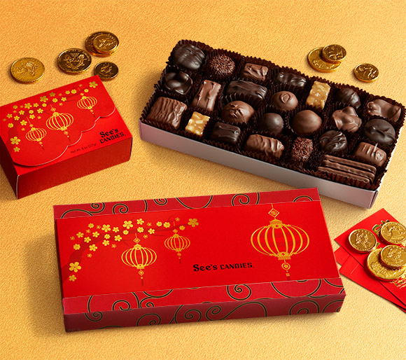 Lunar New Year Chocolate Gifts