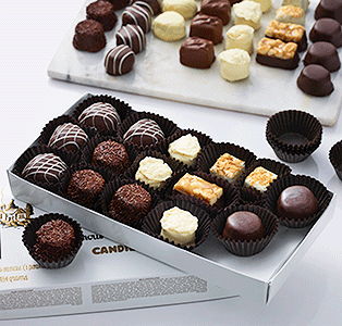 Build a custom chocolate box