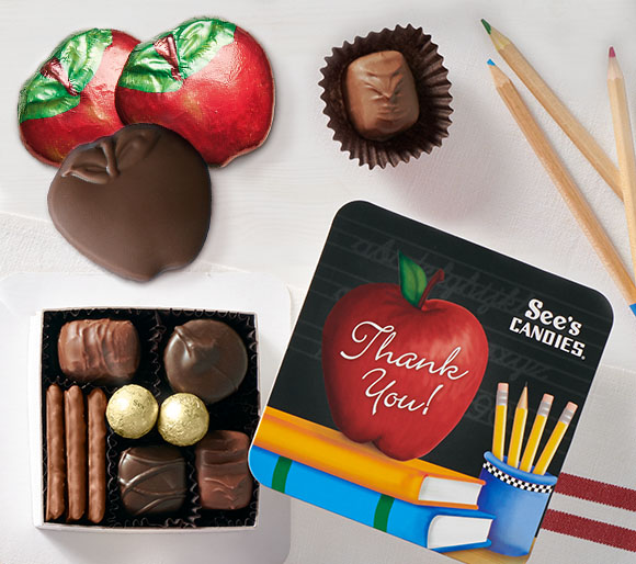Chocolate Teacher Appreciation and Graduation Gifts