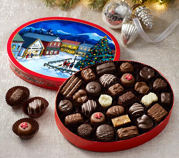 Christmas Boxes of Chocolate