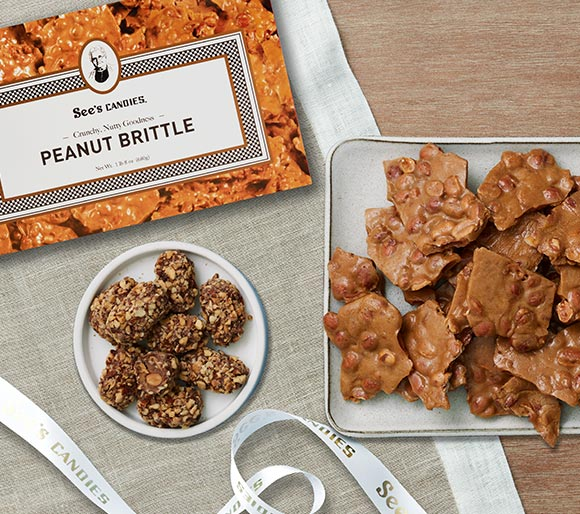 Peanut Brittle and Toffee-ettes