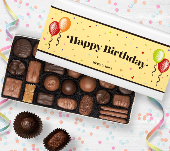 Happy Birthday Chocolate Gifts