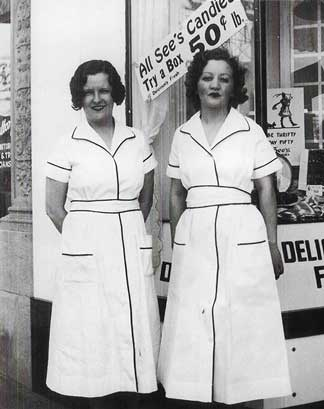 See's Candies shop managers