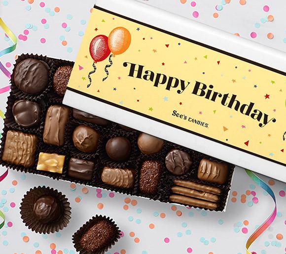 Happy Birthday Chocolate Gifts