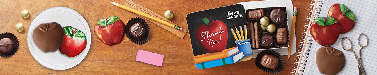 See's Teachers & Grads Gifts