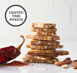 Almond Brittle with a Kick