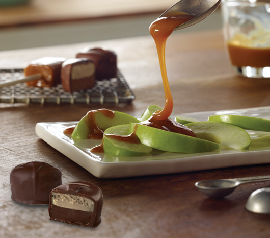 Caramel Apple Scotchmallow and Caramel Apple Lollypops